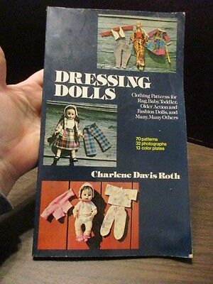 Book: Dressing Dolls - Making Doll Clothes - Patterns - Barbie Dolls Clothes