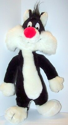 Vintage Plush Toy Sylvester the Cat Warner Brothers Inc Mighty Star 1971