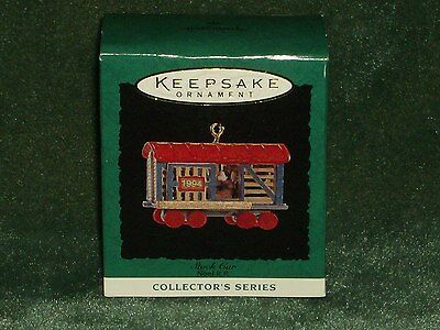 Hallmark 1994 Stock Car - Noel R.R. - Miniature Ornament - NEW
