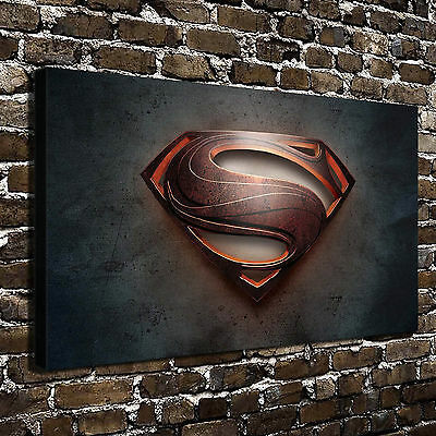"""Superman S Posters HD Canvas Print 16""""x28"""" Home Decor Paintings Wall Art Picture"""