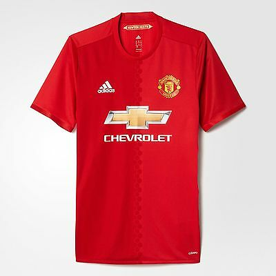 Manchester United Fc Home 16/17 Authentic Jersey