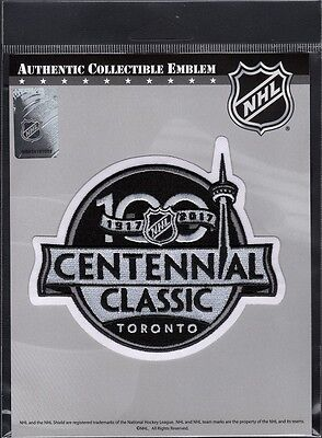 NHL CENTENNIAL CLASSIC PATCH 100th ANNIVERSARY COMMEMORATION STANLEY CUP