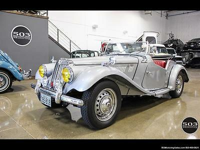 1954 MG T-Series  1954 MG TF; Excellent Condition, Same Owner Since 1969 Automatic 2-Door Converti