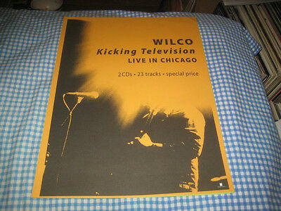 WILCO-(live in chicago)-1 POSTER-11X15-NMINT-RARE