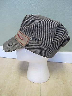 1930's 1940's NRHS National Railroad Historical Society Train Engineers Hat