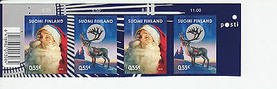 Finland 2010 MNH - Finland Japan joint issue - Christmas - top row of sheet