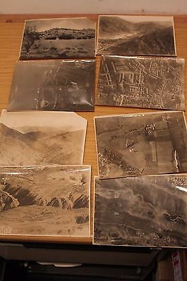 World War One Original Aerial & Aircraft Photograph Collection