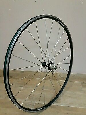 wheels road bike campagnolo nucleon REAR , GOOD CONDITION!hubs record x colnago