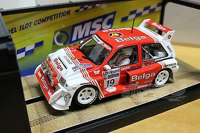 MSC Competition MSC-6025 MG Metro 6R4 Belga RAC Rally 86 1/32  #NEW#