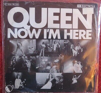 Queen: Now I'm Here /lily Of The Valley (Germany Single) 1974