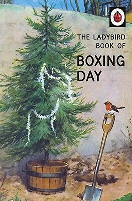 The Ladybird Book Of Boxing Day NEW Hardback Christmas Adult Retro Classic Book