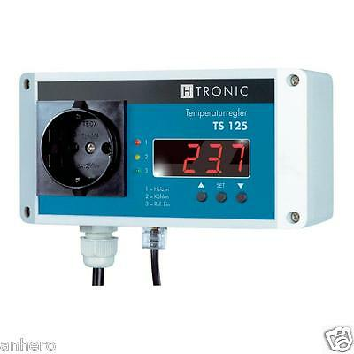 H-Tronic TS125 with Probe TS2, perfect Temperature control for Sauna