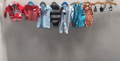 Baby Boys Nike Of Clothes. Age 0-3 Months. Disney, Gap.  A2503