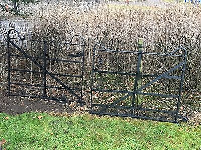 wrought iron gates With Posts