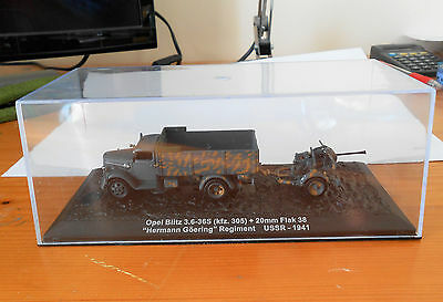 New & Sealed, 1/72, Die Cast, German Army, Opel Blitz And 20Mm Flak, Model