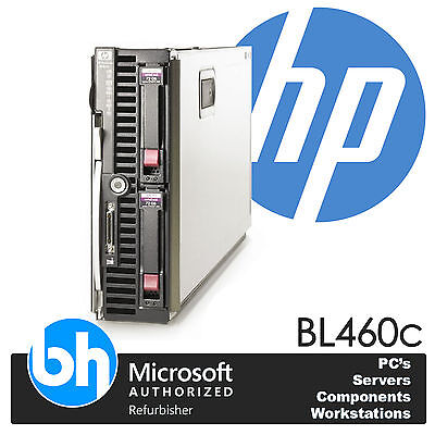 HP Proliant BL460c Doble Xeon Quad Core E5430 2.66Ghz 32GB RAM 146GB HDD E200i