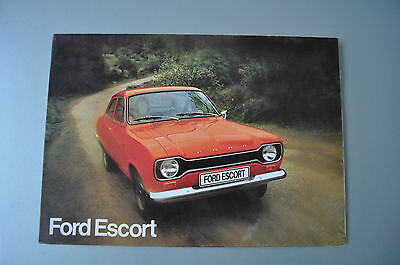 Brochure Prospekt Dépliant Prospectus 1973 French FORD ESCORT SPORT GT BREAK