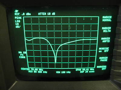 Tracking Generator for HP8590A, HP8565A, HP8568A, HP8569B Spectrum Analysers