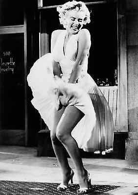 Icon! Marylin Monroe Skirt Poster Print Llarge  Wall Art Size A4 A2 A1 A0