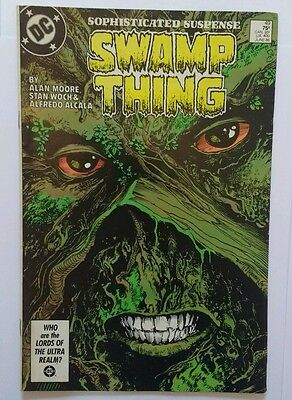 Dc comics SWAMP THING #49 ALAN MOORE key issue​ 1ST app JUSTICE LEAGUE DARK