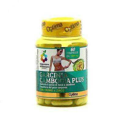 Garcinia Cambogia Plus OPTIMA 60 cpr da 1000 mg