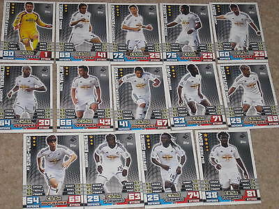MATCH ATTAX 2014 2015 football trading cards x12 starter set Queens Park Rangers