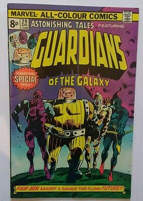 marvel astonishing tales #29 1st appearance Guardians of the Galaxy 1975