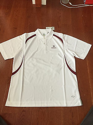 Brand New Dewar's Scotch Callaway X Series Golf Shirt Size Large