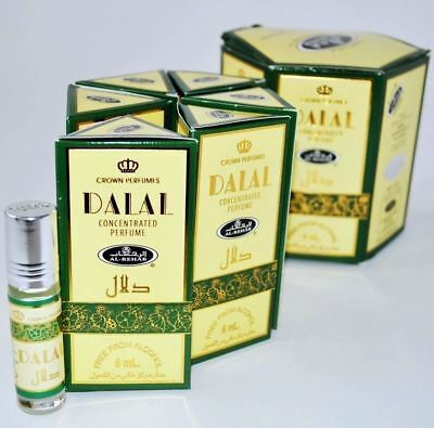 Genuine Al Rehab Dalal 6 x 6ml Oil Perfume Fragrance Roll On Alcohol Free Halal