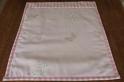 Laura Ashley Bella Butterfly Quilt/Eiderdown Cot/Pram Handmade Vintage Style
