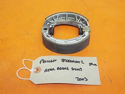 Peugeot Speedfight 2 50cc A/C 2003 Rear Brake Shoes (Back Brake Shoes) + Springs
