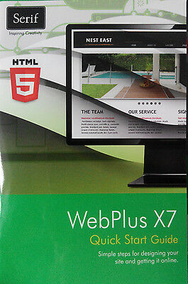 Serif Webplus x7 - build unlimited professional websites - with resource guide