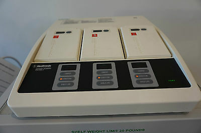 Lifepak 12 Physio Control BSS2 3 Bay Charger Battery Support System for LP 12