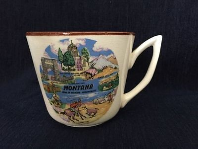 Montana Land Of Shining Mountains Souvenir Mug