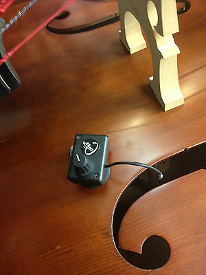 UPRIGHT BASS PICKUP, DOUBLE BASS PICKUP with FLEXIBLE GOOSENECK, Myers Pickups