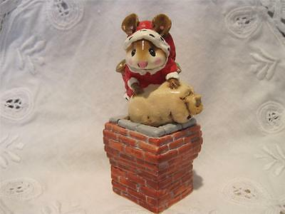 Wee Forest Folk Down the Chimney - Made for 2 Yrs Retired in Older Style WFF Box