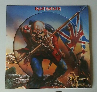 """Iron Maiden - The Trooper (12 """" single, pic )"""