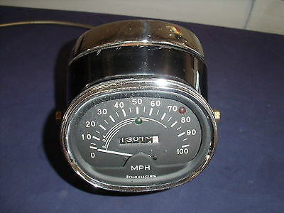 1968 Honda CL 175 Headlight Housing and Speedometer with Speedo Cable