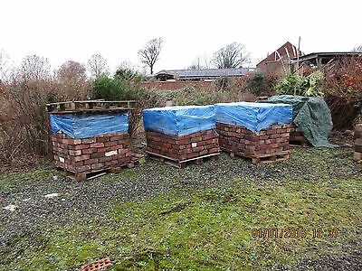 Reclaimed bricks - imperial size - 350 on pallet