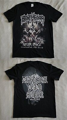 """Belphegor official T-shirt """"Conjuring the dead"""" black  NEW (L)"""