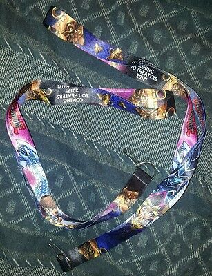 2x NYCC 2016 Yu-Gi-Oh The Dark Side of Dimensions Lanyard lot