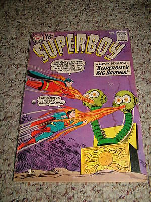 1961 DC Comic Superboy #89 Key Issue First Appearance Mon-El Superboy's Brother