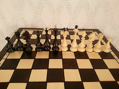 Classic Very Big Wooden Chess Set 004