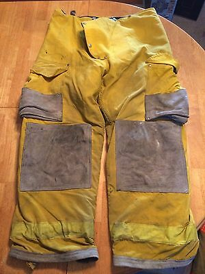 Janesville Firefighter Pants Turnout Bunker Fire Gear Size 38R Item 10