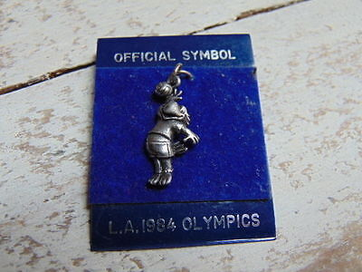 Original 1984 Los Angeles Olympics Olympic Games Necklace Pendant Official Symbo