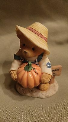 "Cherished Teddies ED ""There is a patch in my heart for you"" 1999 Reg# 9E4/889"