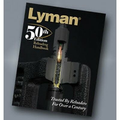 Lyman 50th Edition Reloading Handbook (softcover) CWLY9816051