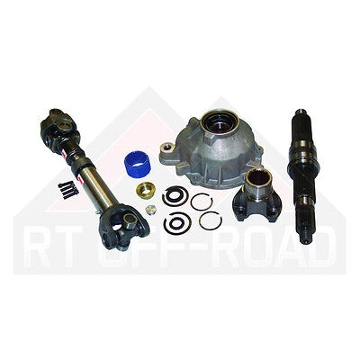Slip yoke eliminator & HD cv propeller shaft kit Jeep Wrangler YJ 1987/1995