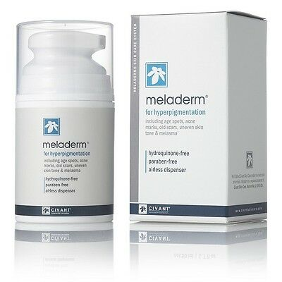 Meladerm for hyperpigmentation skin cream 1.7 oz/50 ml