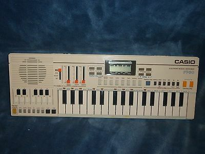 Vintage 1982 Casio PT-30 Tested Works RARE Synthesizer Keyboard Mini VGC